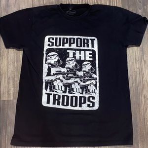 Support the troopers